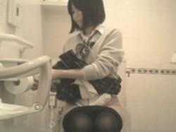 【投稿作品】女子大生やOLのティーンガールのトイレ覗き‼ File24