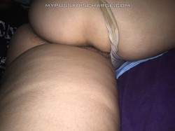 Wifes dirty panties after a long day