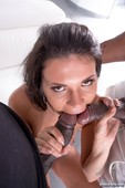 Verona Sky, her first interracial trio comes with double vaginal 09-01